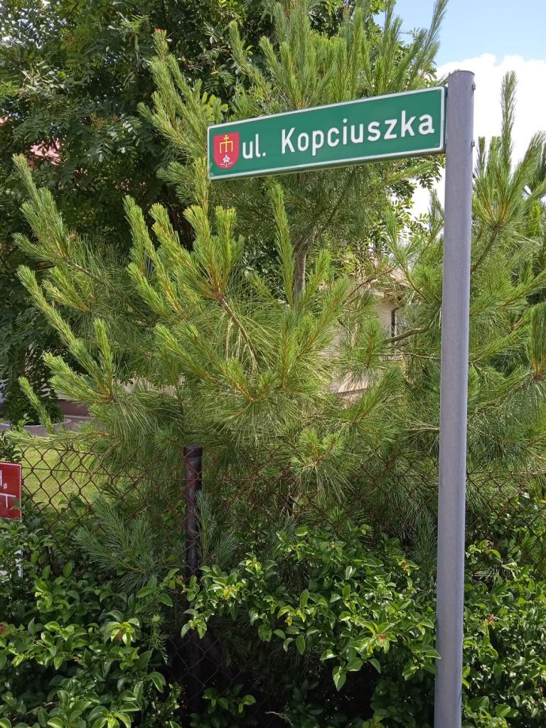 Nowa droga wDąbrówce- Ług